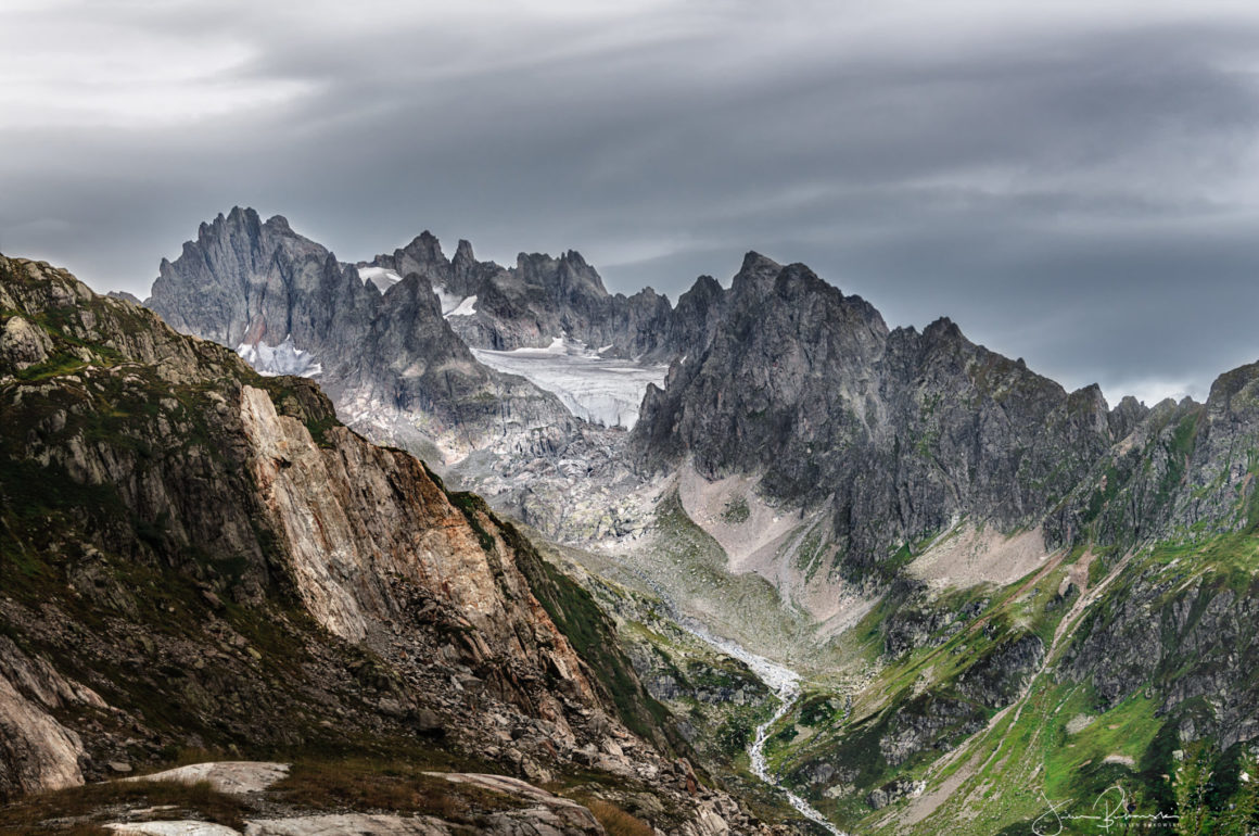Glacier de l'Obertal (Suisse)