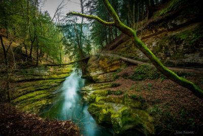 Gorges de l'Areuse (Suisse)