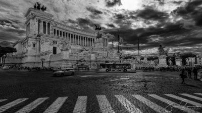 Monumento a Vittorio Emanuele II (Rome - Italie)