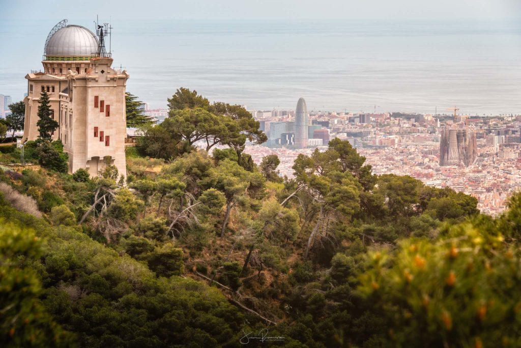 L'observatoire de Barcelone (Espagne)