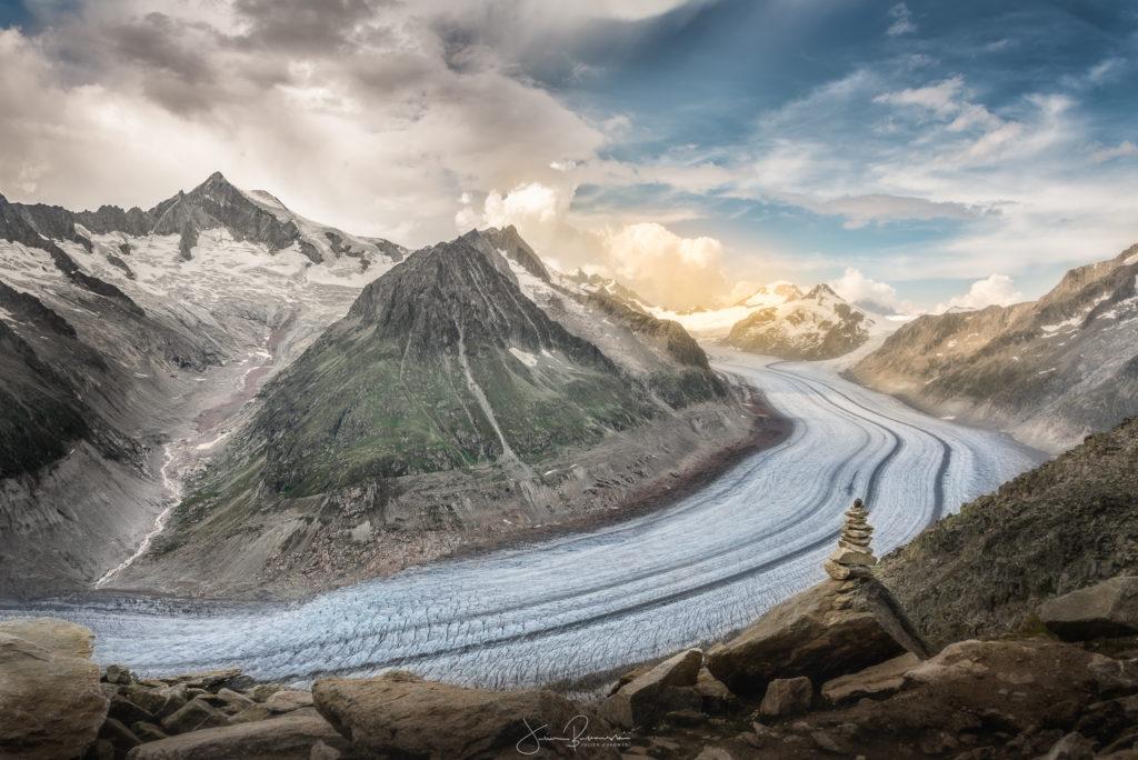 Glacier d'Aletsch (Suisse)