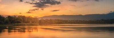 Le lac vers Yverdon (Suisse)