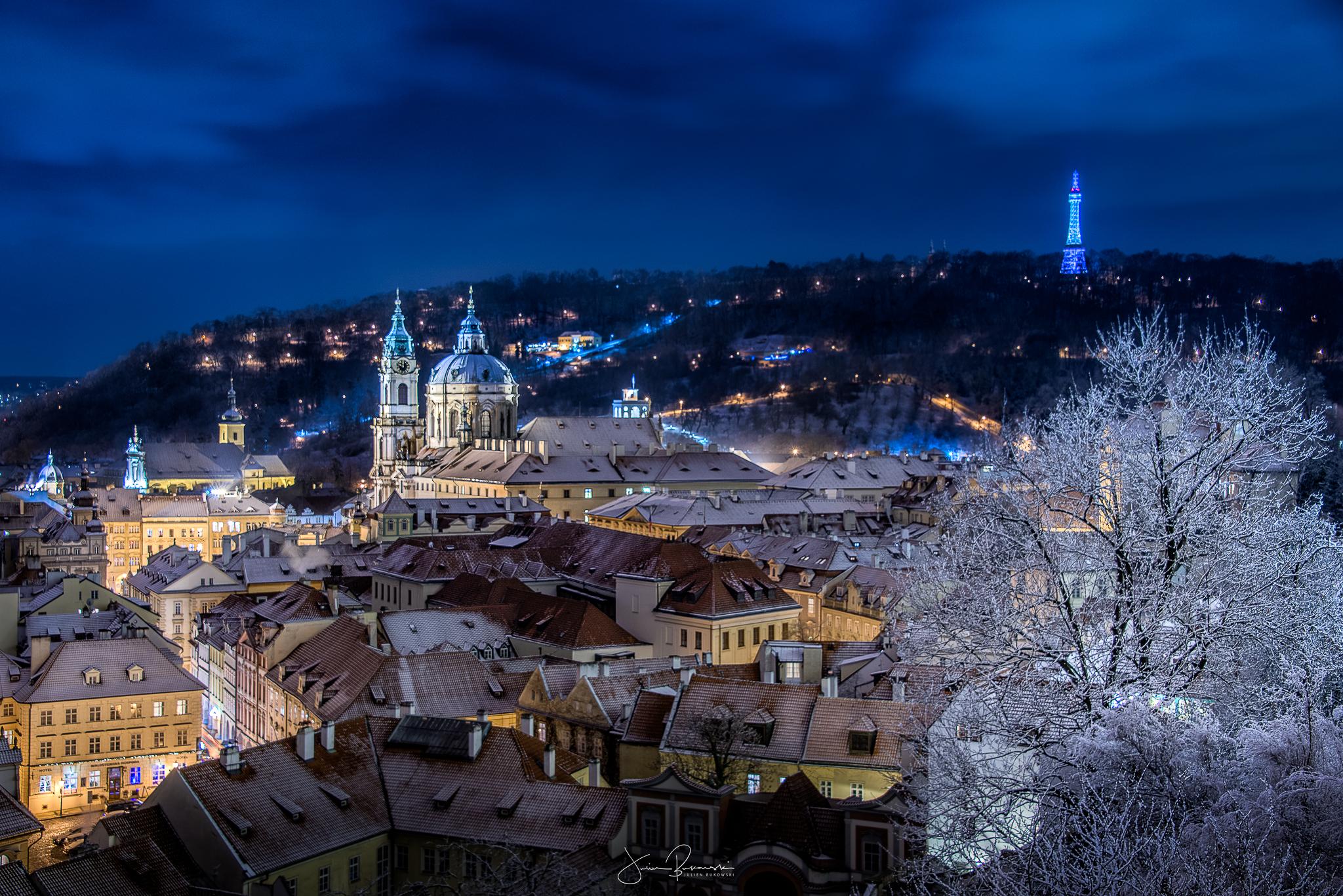 Prague from the castle (Prague - Tchèquie)