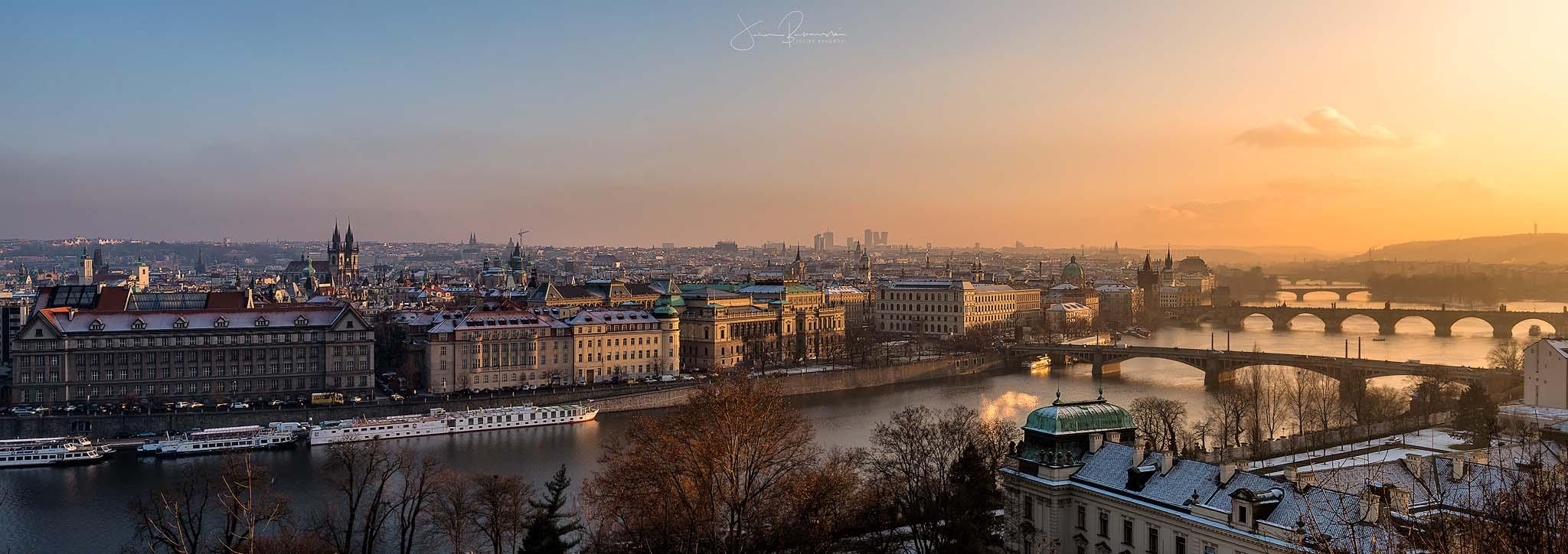 Les ponts de Prague (République Tchèque)