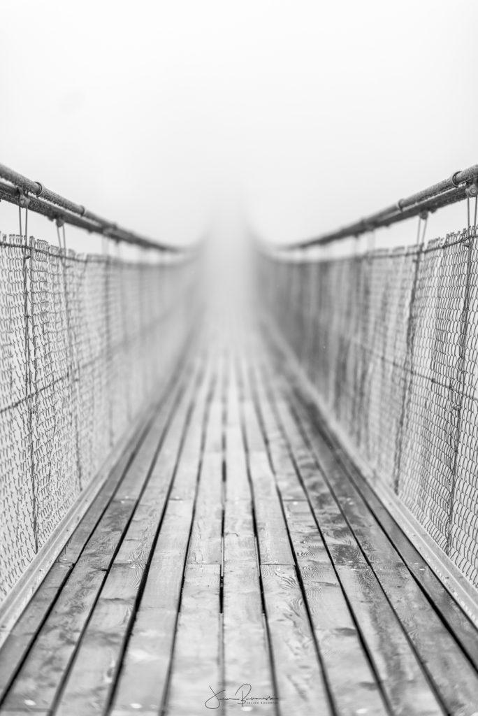 Un pont sans fin (Valais - Suisse)