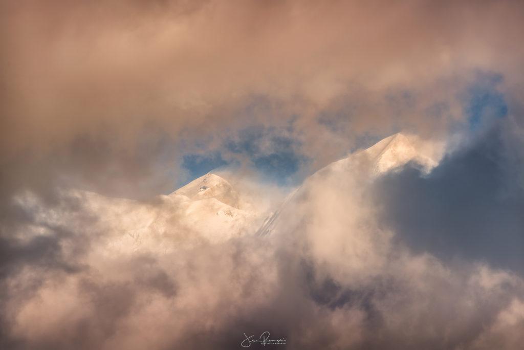 Mont Blanc et Aiguille de Bionnassay (France)