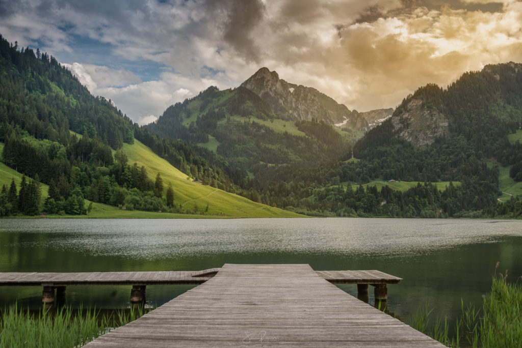 Lac noir (Fribourg - Suisse)