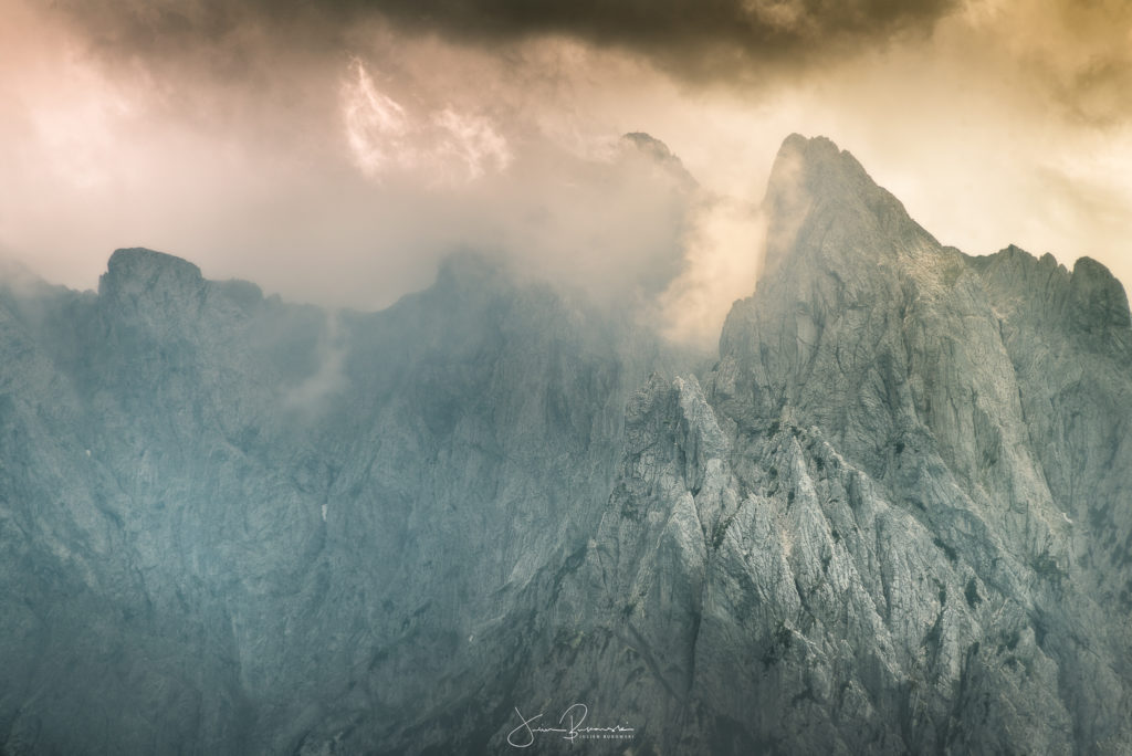 Montagnes autour de Walchsee (Autriche)