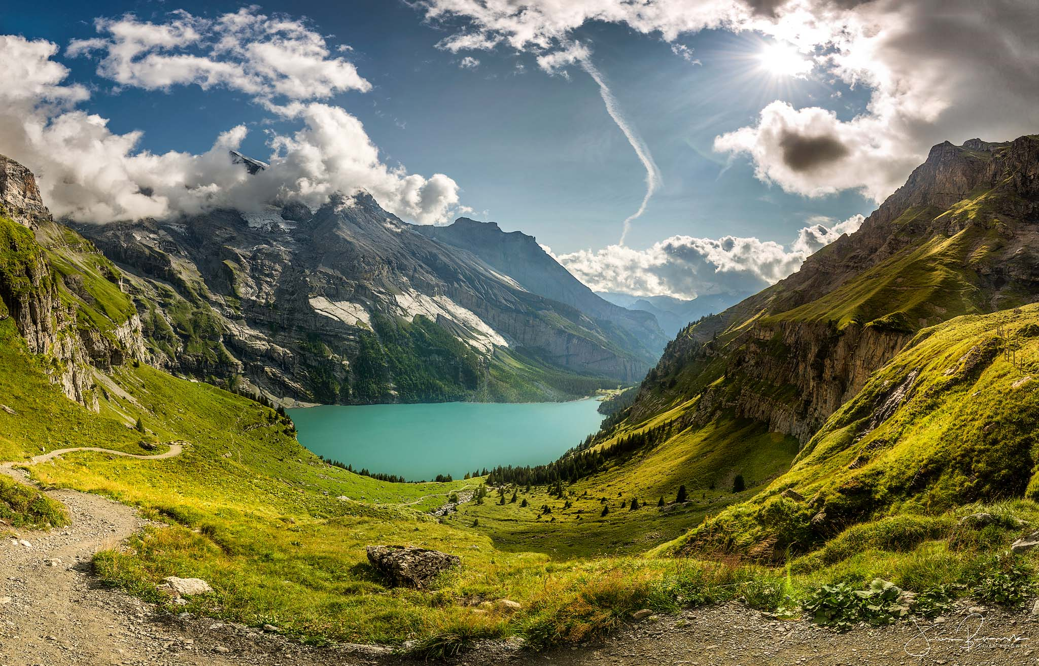 Oeshinensee-Panorama (Suisse)