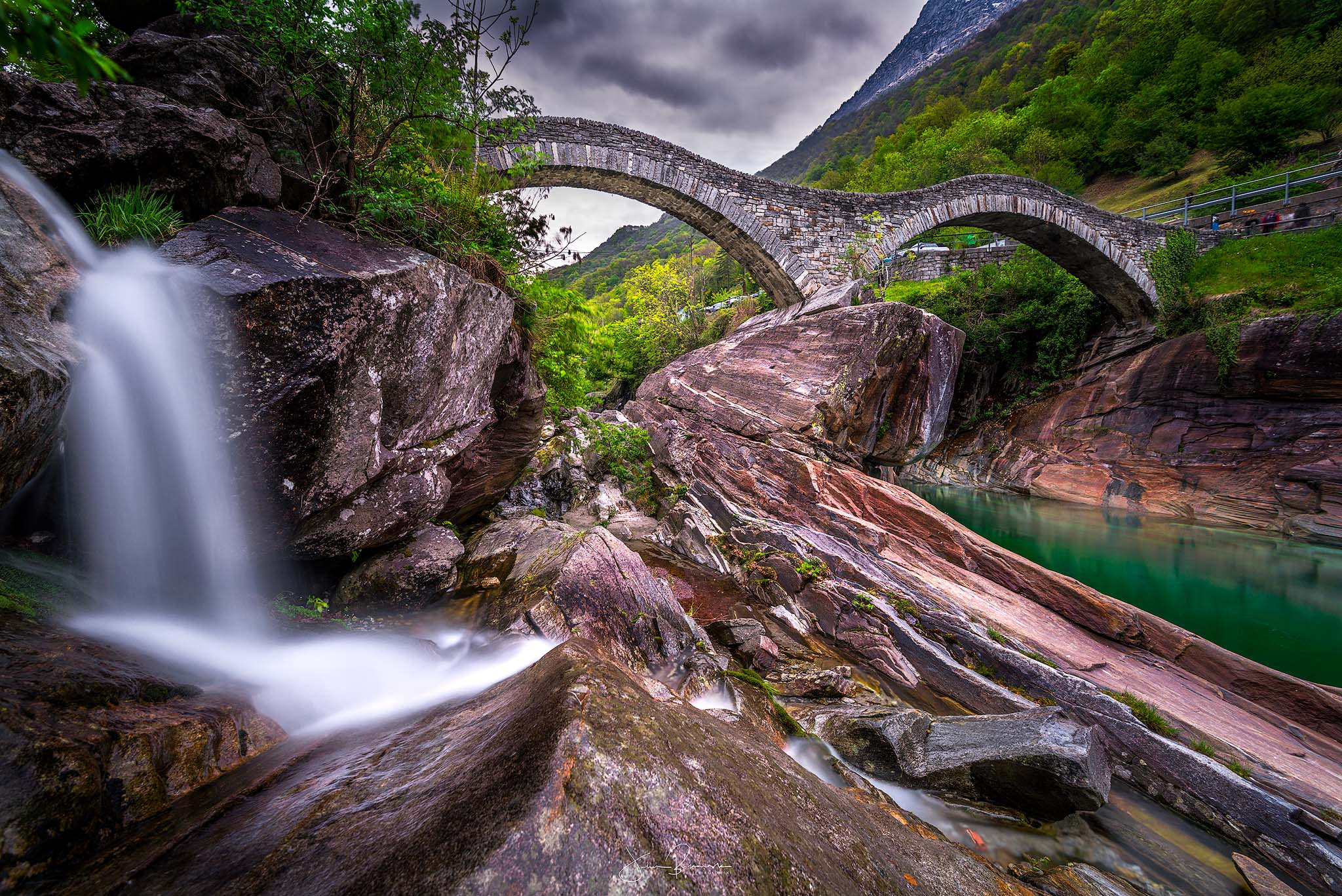 Ponte dei salti (Tessin - Suisse)