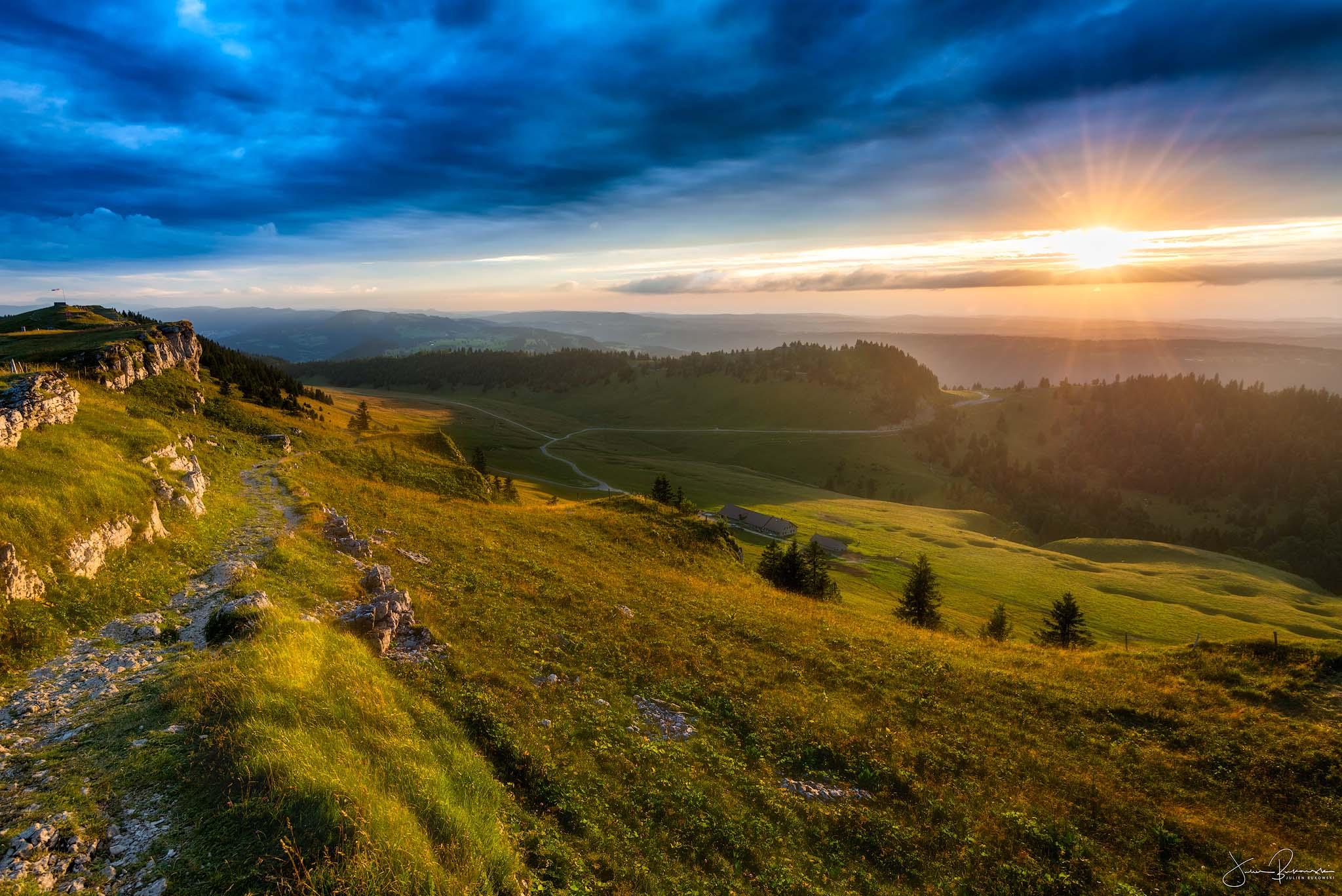 Vue du Chasseral (Suisse)