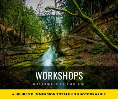 Workshop aux Gorges de l'Areuse